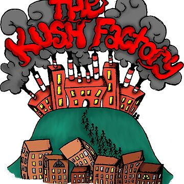 The Kush factory by Guusdewolf