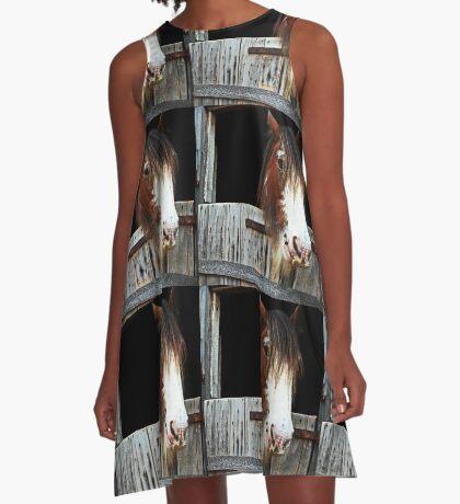 Meine beste Seite! A-Linien Kleid