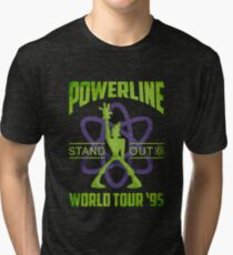 Powerline Stand Out Welt Tour 95 'V2 Vintage T-Shirt