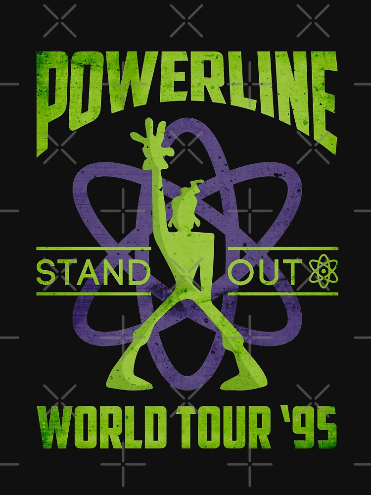Powerline Stand Out World Tour 95' V2 by Batg1rl