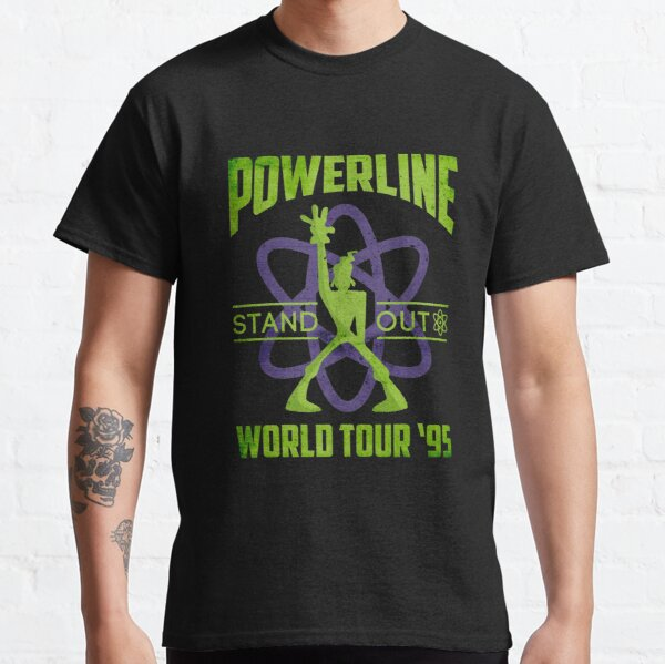Powerline Stand Out World Tour 95' V2 Classic T-Shirt