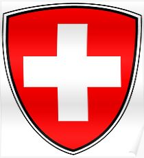 Switzerland Coat Of Arms Poster
