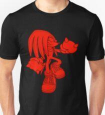 Knuckles [Black Background] T-Shirt
