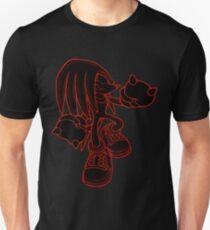 [V2] Knuckles [Black Background] T-Shirt