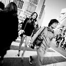 Dare to be different - Shibuya Tokyo Japan by Norman Repacholi
