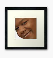 Cory in the anime Framed Print