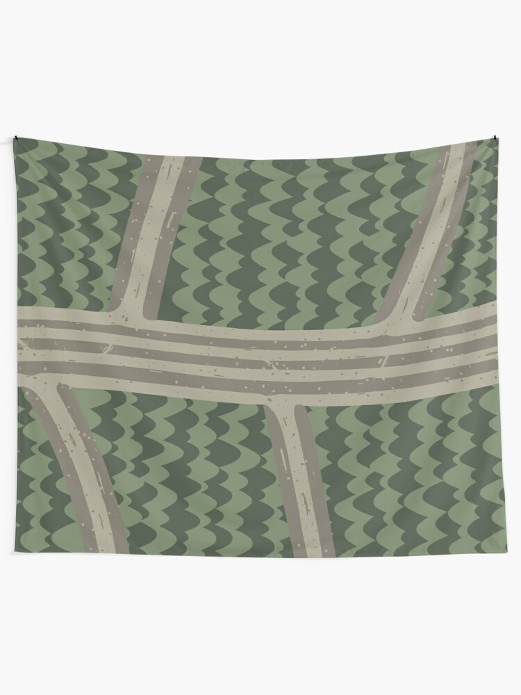 Alternate view of BACKROADS Tapestry