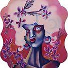 Pink Honeysuckle by Ela Steel