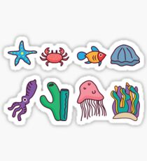 Coral Reef Icons 2 Sticker