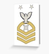 EOD Master Chief Greeting Card