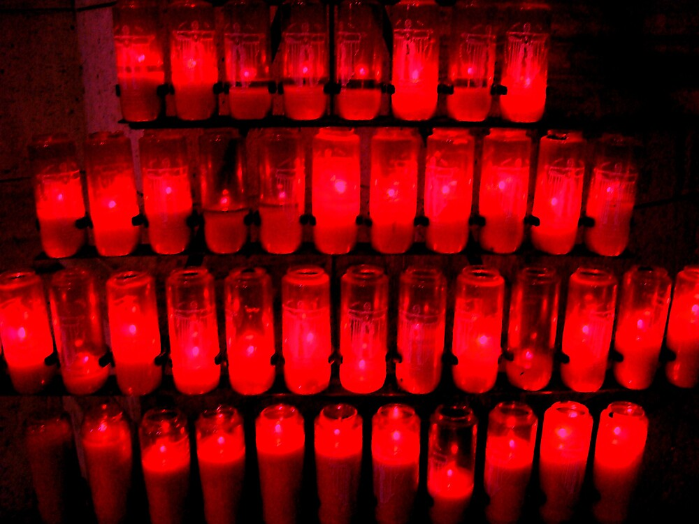Prayer Candles by Nico3