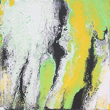 Monster Flow Fluid Painting by CGStudio