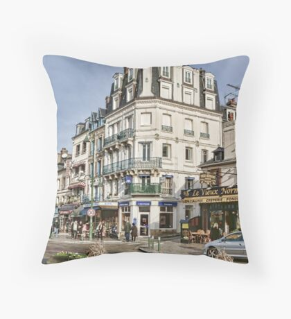 Trouville France II Throw Pillow