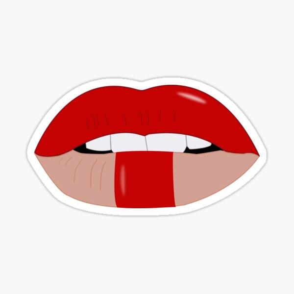 Queen's Lipstick Sticker