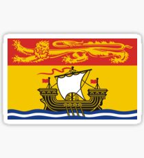 New Brunswick Flag Sticker