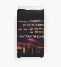 Good Times Skyline Duvet Cover