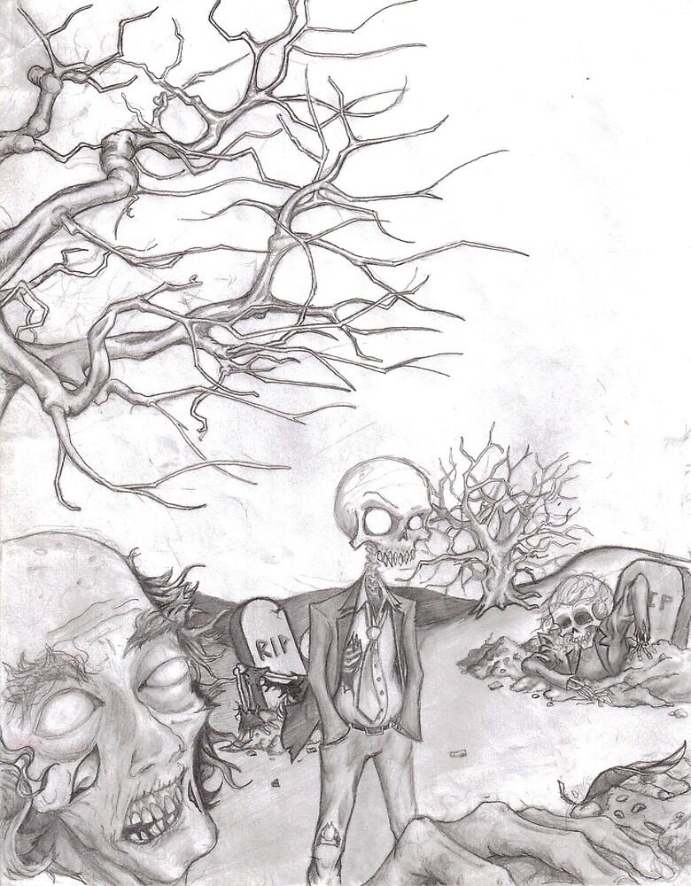 Graveyard Shift by scratchnsketch