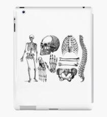 Human Skeleton Anatomy, Drawings, Sketches iPad Case/Skin