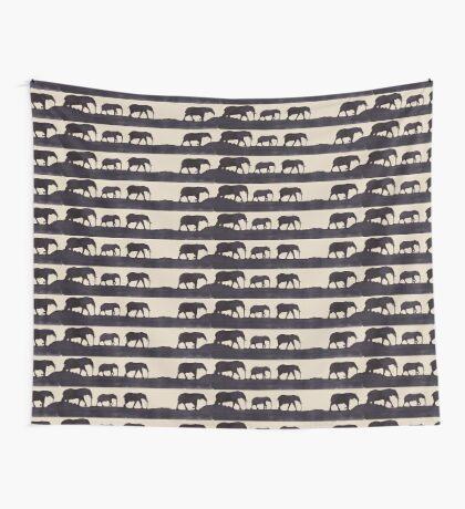 Lodge décor - Elephant safari Wall Tapestry
