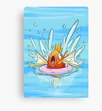 Magikarp Splash! Canvas Print