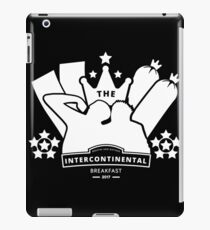 The IC Breakfast Podcast (White) iPad Case/Skin