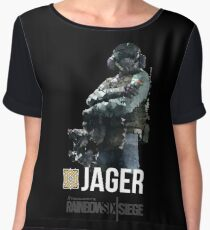 R6 - Jager | Operator Series Women's Chiffon Top