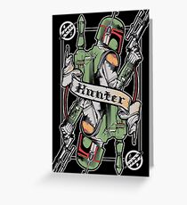 Hunter Greeting Card