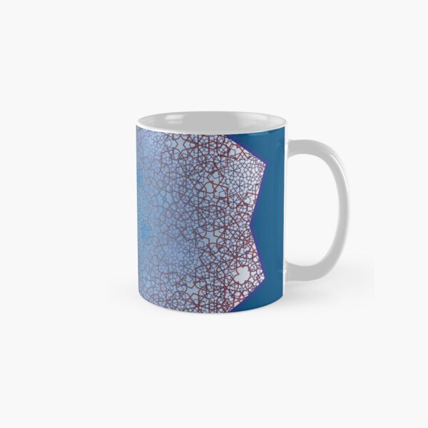 Floral Double Layer Large Lock  Classic Mug