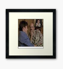 is that the singer songwriter george michael? Framed Print