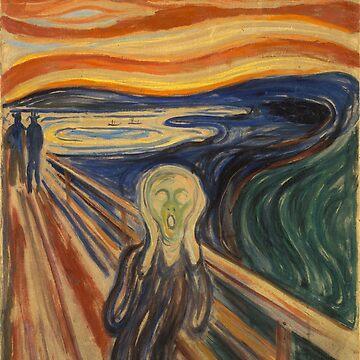 The Scream by Edvard Munch by alexklp