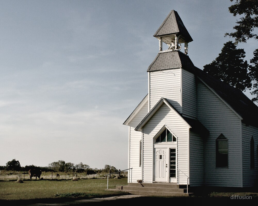 Country Church by diffusion