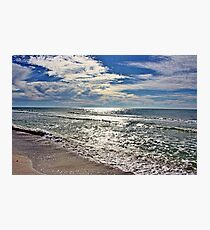 Sparkling Gulf Waters Photographic Print