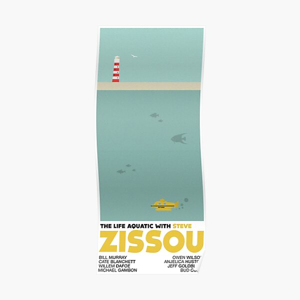 The Life Aquatic (With Steve Zissou) Poster