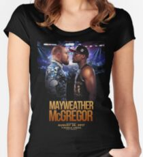 The Money Fighting Women's Fitted Scoop T-Shirt