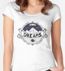 ACOMAF inspiriert Tailliertes Rundhals-Shirt