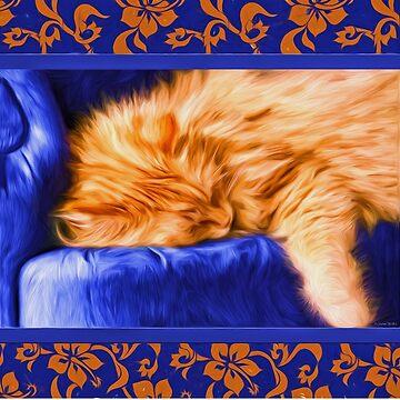 Kouch Kitty by SalonOfArt