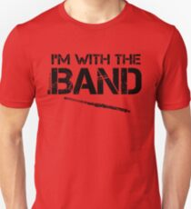 I'm With The Band - Flute (Black Lettering) Unisex T-Shirt