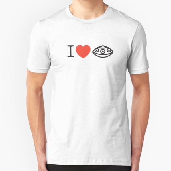 I LOVE PANTAM I LOVE HANDPAN  Slim Fit T-Shirt