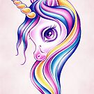 Candy Pop Unicorn by sandygrafik