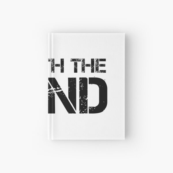I'm With The Band (Black Lettering) Hardcover Journal