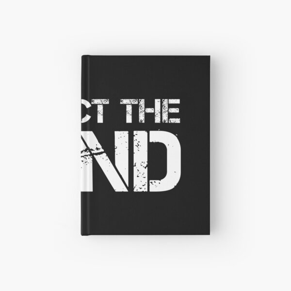 Respect The Band (White Lettering) Hardcover Journal