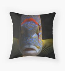 What u lookin' at? Throw Pillow