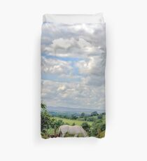 English Country Landscape 6 Duvet Cover