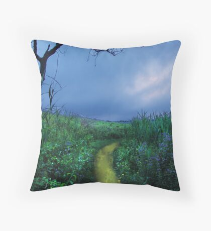 We're Off Throw Pillow