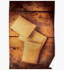 Rustic country soap bars Poster