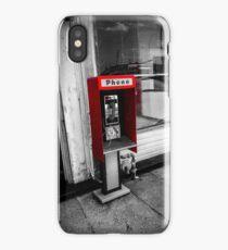 Joplin MO phone booth iPhone Case/Skin