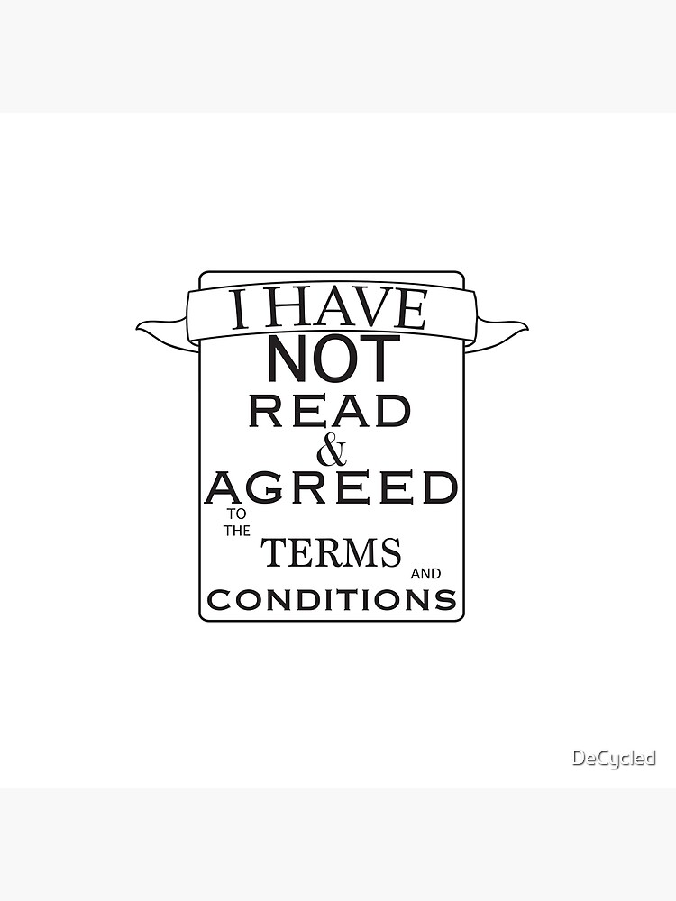 Terms And Conditions by DeCycled