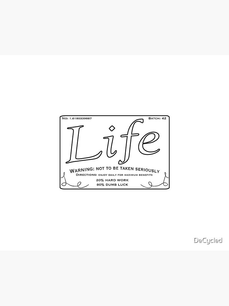 Prescription Life by DeCycled