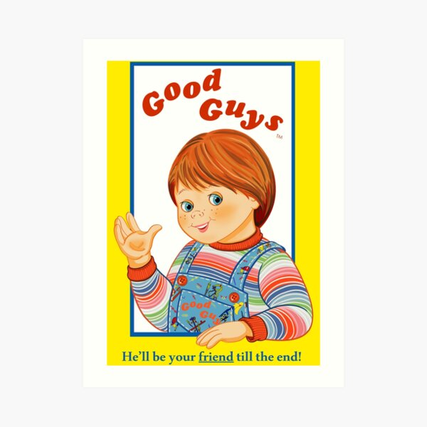 Childs Play Chucky Retro Film Movie Good Guys 80S Arcade Comic Halloween Woman