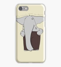 elephants wear corduroy iPhone Case/Skin